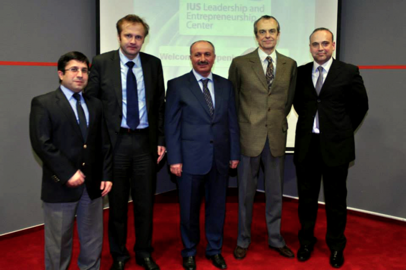 Opening Ceremony of the Leadership and Entrepreneurship Center IUS - 24, Sarajevo 25 February 2014